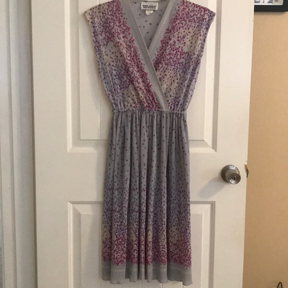 Dresses & Skirts - Vintage sheer purple dress